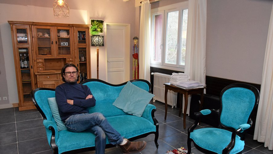 David Bergès  (et Philippe Fleury), un enfant du pays, ont redonné vieà l'ancien hôtel-restaurant du Pont de la famille Carrier.
