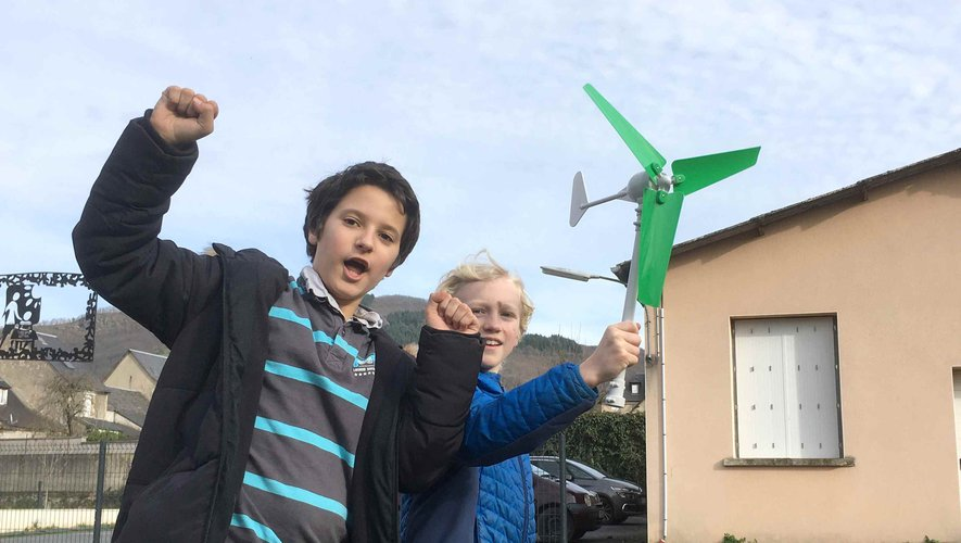 Les élèves de l'école Sainte-Marie fabriquent de l'énergie.