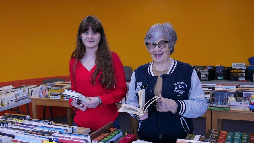 Durant deux jours, les livres étaient donnés à l'APF.
