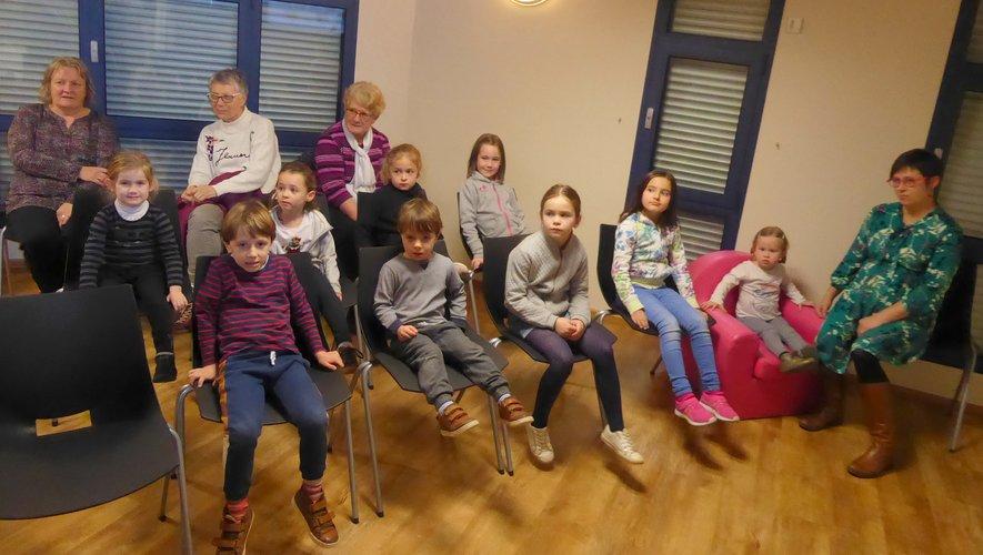 Les participants à cette projection jeunesse.