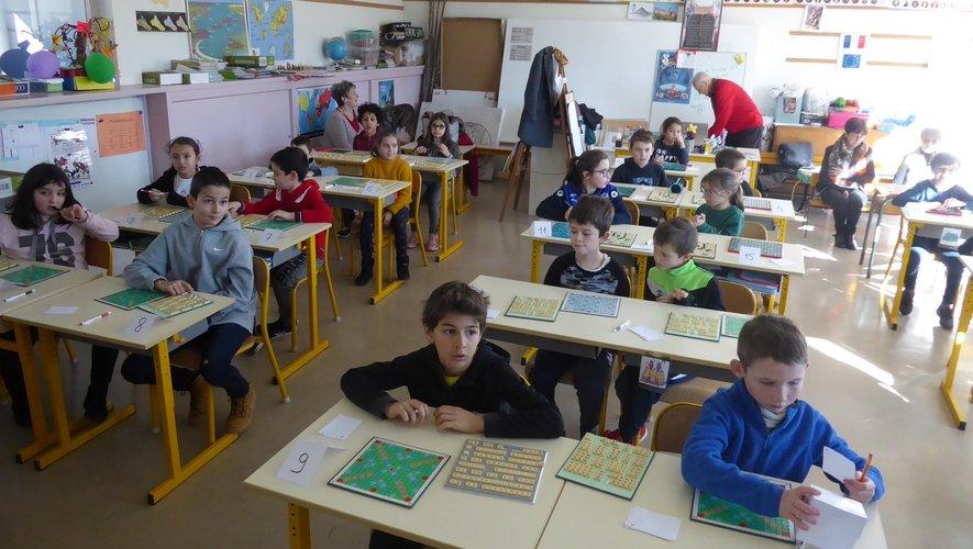 Les enfants ont participé à cette finale avant le premier test.