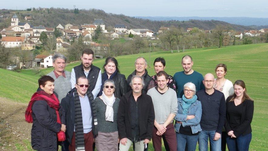 Une équipe dynamique prête à s'engager pour l'avenir de la commune.