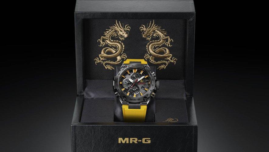 G-Shock présente une montre hommage à Bruce Lee.
