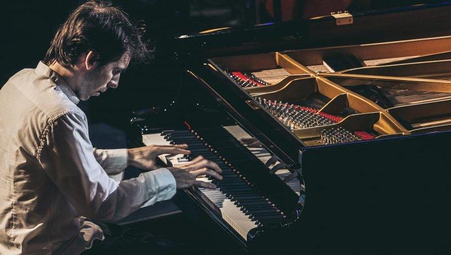 Alexandre Kantorow, lors des Victoires de la musique.