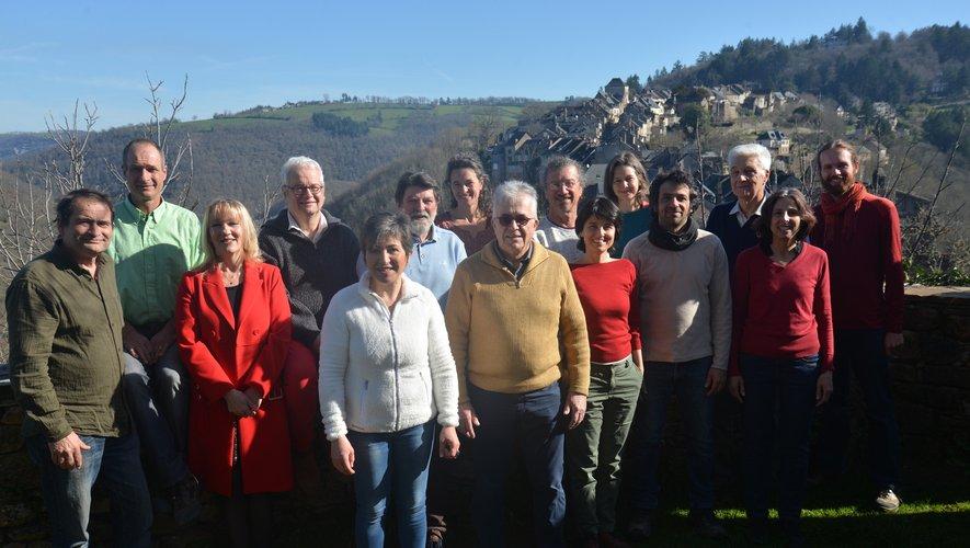 Les membres de la liste Najac ensemble.