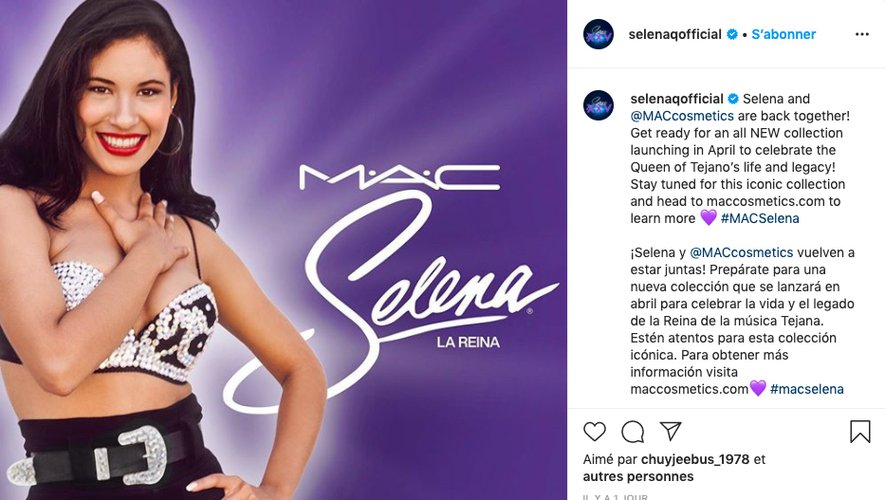 "MAC développe une seconde collection ""Selena"""