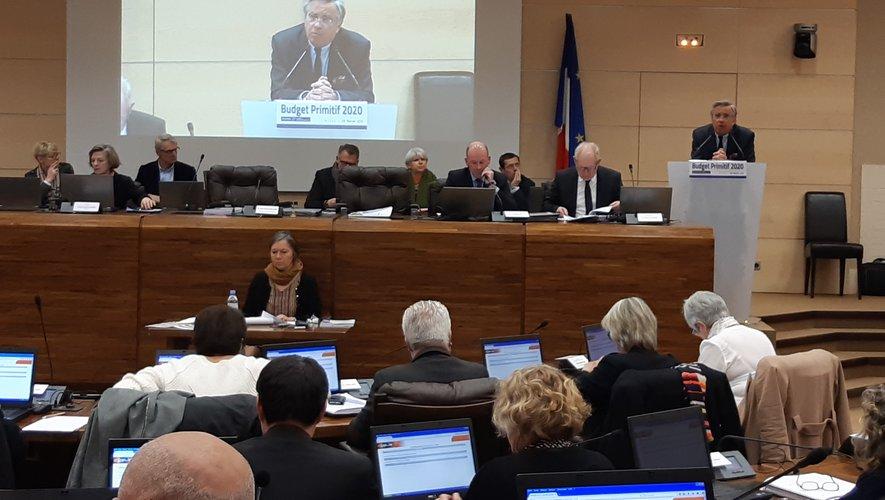 Jean-François Galliard  a présenté le dernier budget de la mandature.