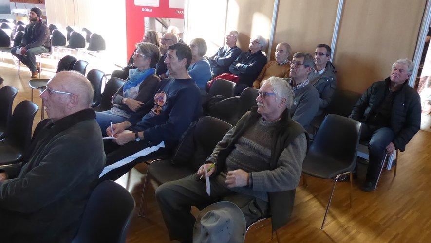 De nombreuses conférences étaient programmées.
