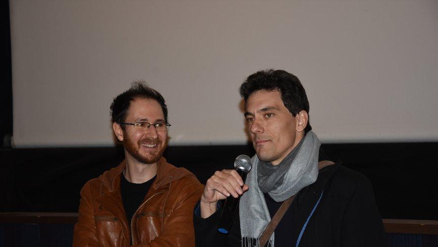 Guillaume Levil et Lewis Eizykman aiment aller  à la rencontre des cinéphiles,