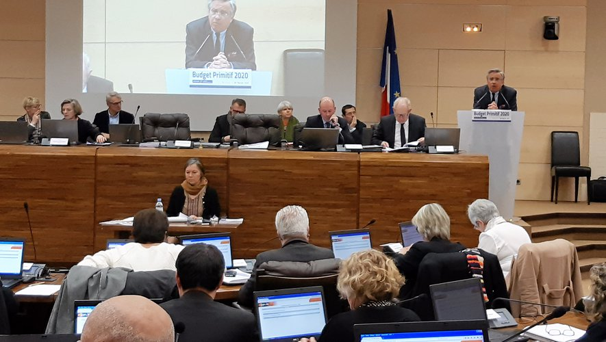 Le président Jean-François Galliard a présenté le dernier budget primitif de la mandature.