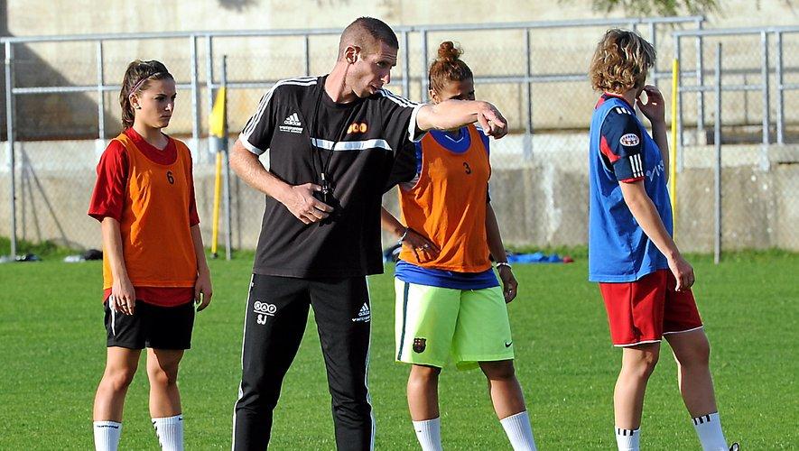 Sébastien Joseph a vécu sa première aventure à la tête d'une équipe féminine à Rodez.