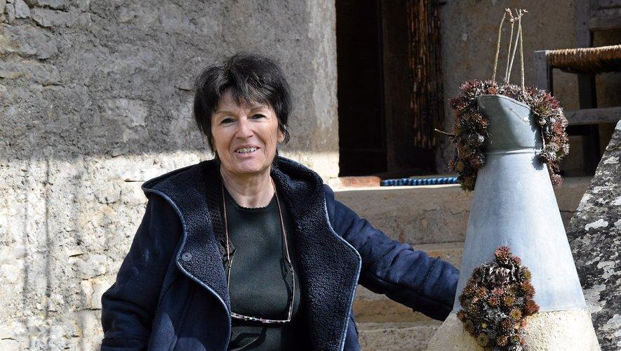 Catarina Viti a trouvé l'inspiration dans le hameau quercinois d'Anglars, sur la commune de Salvagnac-Cajarc.
