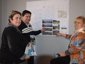 Stéphanie Allard, son époux et Danièle Lavayssière portent ce projet qui verra le jour début 2021 rue Eugène Salettes.