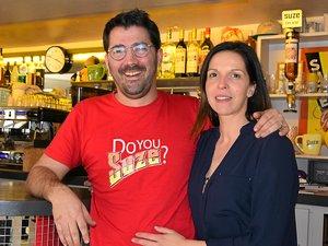 Sébastien alias Monsieur Suze et Carine (sa Suzette qui lui fait perdre la tête !) ont quittéla ville rose pour voir la vieen rose à Ségur.