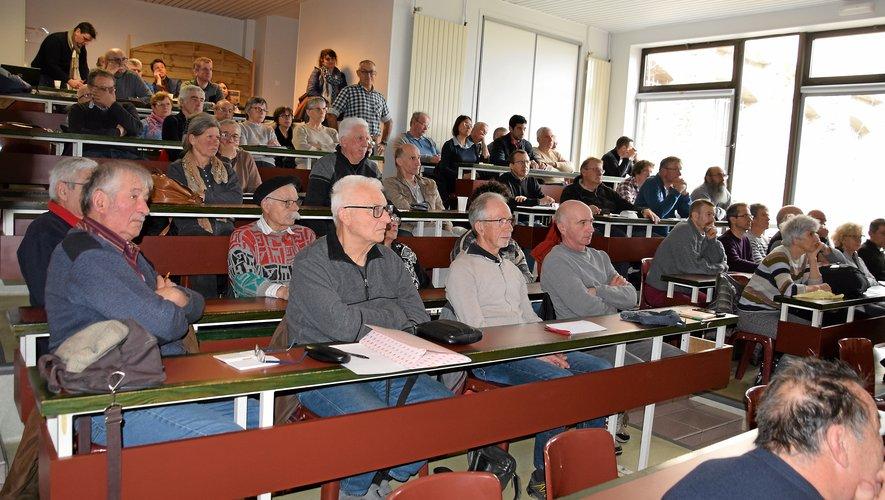 L'assemblée générale du GDSA 12 s'est tenue samedi dans une salle du lycée Louis-Querbes  à Rodez.