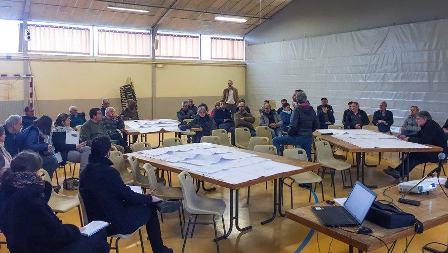 Les réunions intercommunales ont regroupé 120 participants.