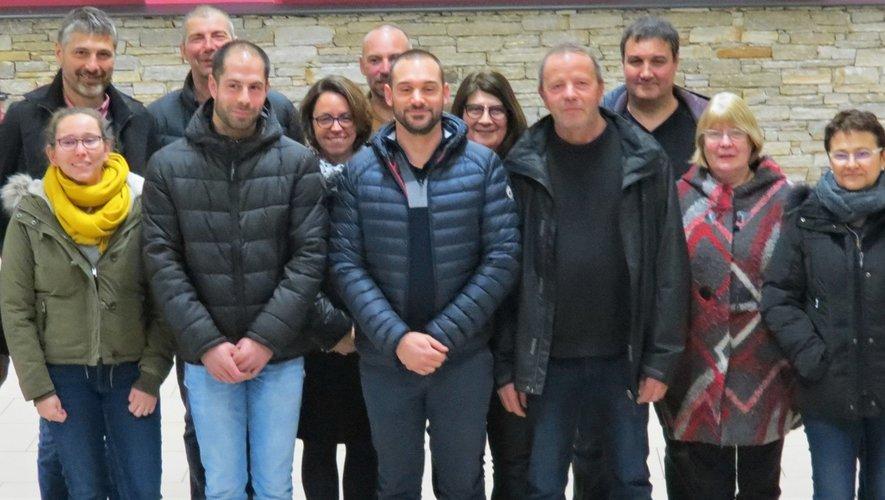 De gauche à droite dernier rang : Jean-Pierre Mazars, maire sortant (Rancillac), Philippe Chincholle, C. sortant (La Mothe), Lilian Veyrac, C. sortant (Lugan), Laetitia Hot, C. sortante (Quins), Lydie Mure D'Alexis, C. sortante (Salan), Jérôme Auriol, C. sortant (Démiès).De gauche à droite premier rang : Amélie Salvat (La Longagne), Frédéric Vergnes (Laporte), Damien Rigal (Salan), Christian Bousquié, C. sortant (Truels), Christiane Watremez, C. sortante (Lizarnie), Pascale Jammes (Le Landas), Marie-José Andrieu (La Couliche), Françoise Soler (Salan).