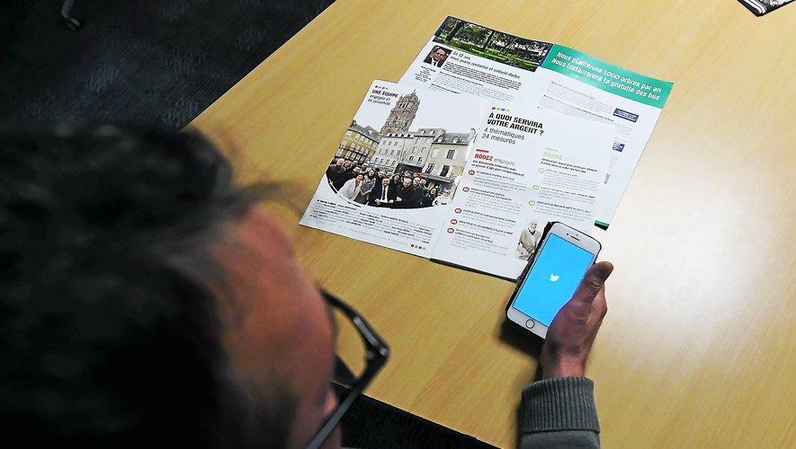 S'informer et réagir, une mécanique de campagne facilitée par les réseaux sociaux.