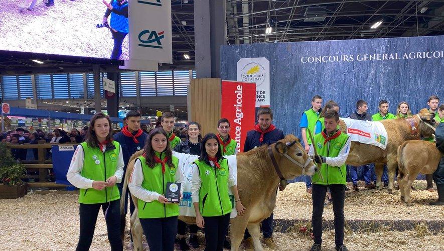 Les lycéens de La Roque ont décroché la deuxième place du concours dans leur catégorie.