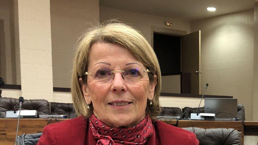 Annie Cazard, présidente de la communauté de communes Aubrac Carladez Viadène.