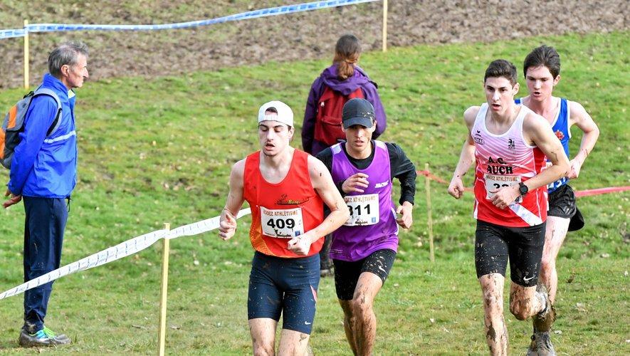 Une vingtaine d'Aveyronnais étaient qualifiés pour les championnats de France de cross.