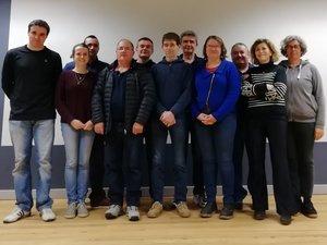 """""""Ensemble pour l'avenir d'Auriac-Lagast"""" avec Yves Latieule"""