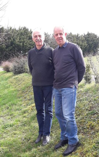 Pierre Rigal  et Daniel Burguière.