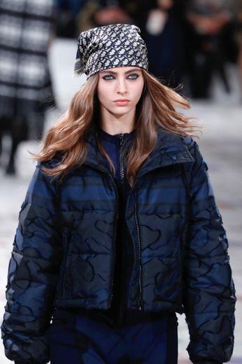 Le bandana de Dior. Paris, le 25 février 2020.