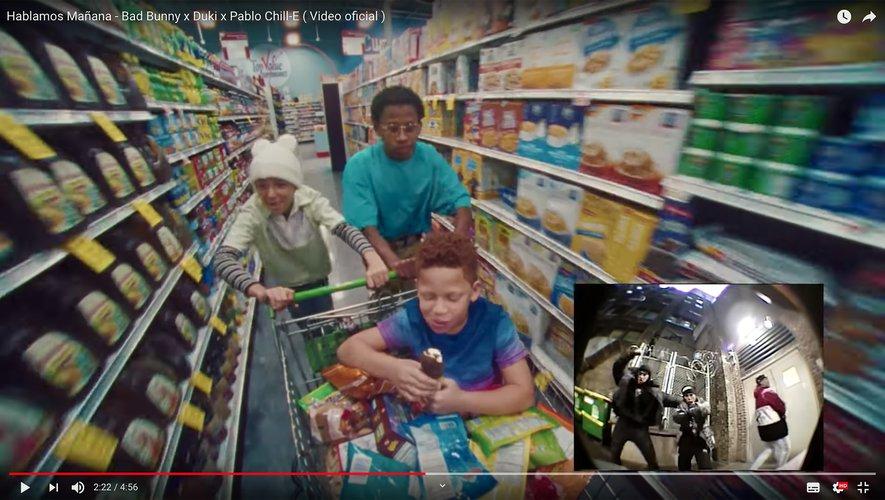 "Bad Bunny x Duki x Pablo Chill-E dans le clip de ""Hablamos Mañana"""