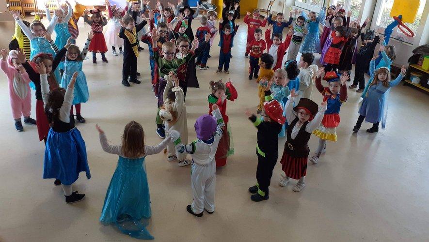 Les élèves de maternelle de l'école Saint-Jean ont fêté carnaval !