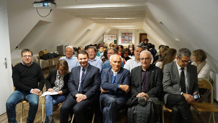 Elus et membres de l'Ogec réunis lors de l'assemblée.