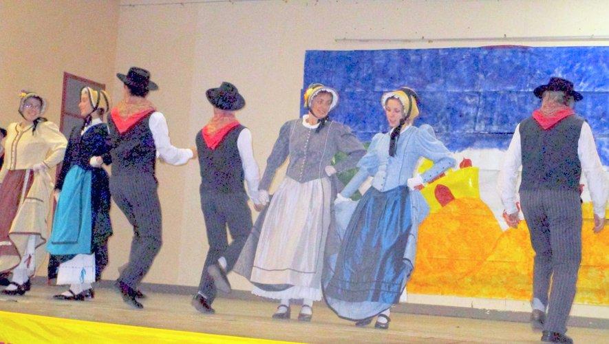 Le groupe folklorique la « Bourrei d'Olt »