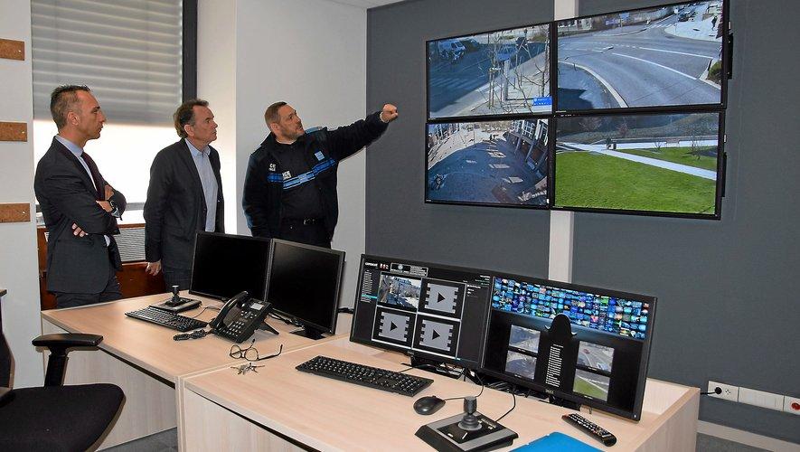 La cellule de vidéoprotection, en fonction à Rodez.