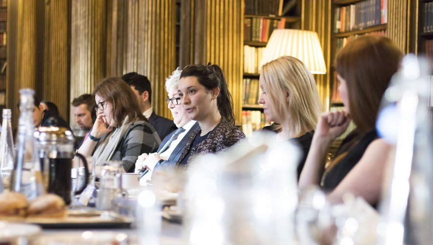Originaire de Millau, Claire Calmels (29 ans) est conseillère technique au Sénat pour le groupe Les indépendants, au sein duquel figure l'Aveyronnais Alain Marc.
