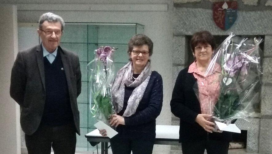 Merci Jeanine et Gilberte pour votre dévouement au sein de la commune.