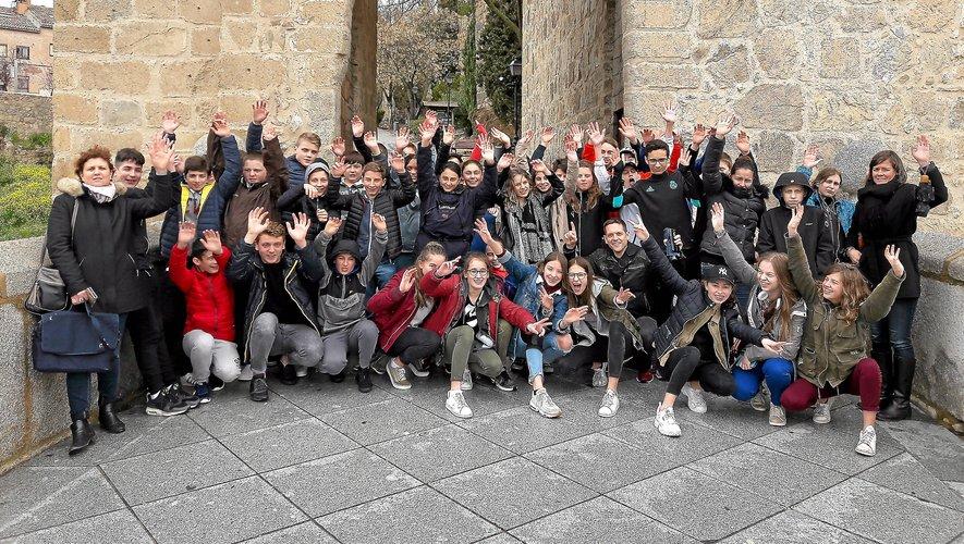 En avril 2018, 200 élèves du collège Saint-Joseph de Rodez ont voyagé à travers toute l'Europe. Ils ne pourront plus guère le faire cette année.