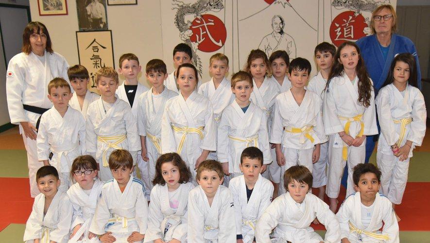 De belles performances et beaucoup de motivation pour ces jeunes judokas.
