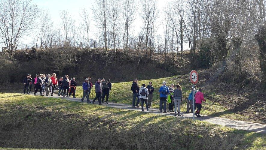Tous les 15 jours, le club Lou Cami Ferrat de Curan organise une randonnée aux alentours du Lévezou.