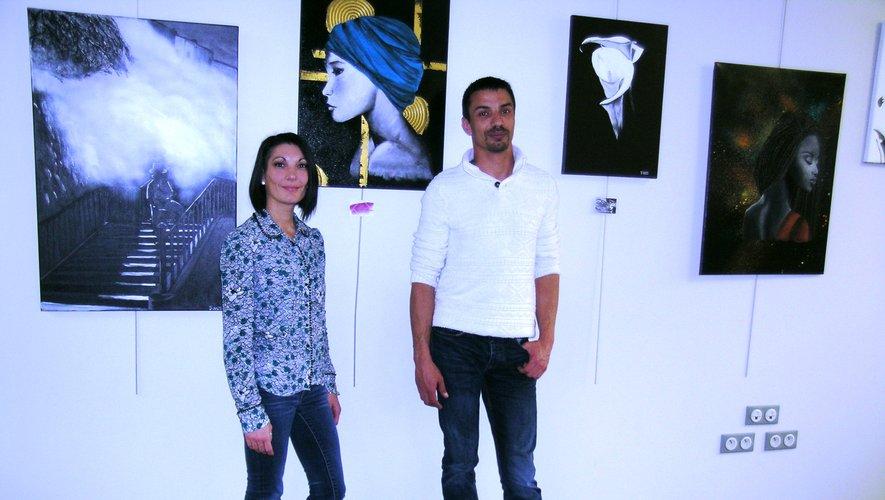Sonia Oliveira et Yohann Reitz, qui s'associeront pour d'autres expositions.