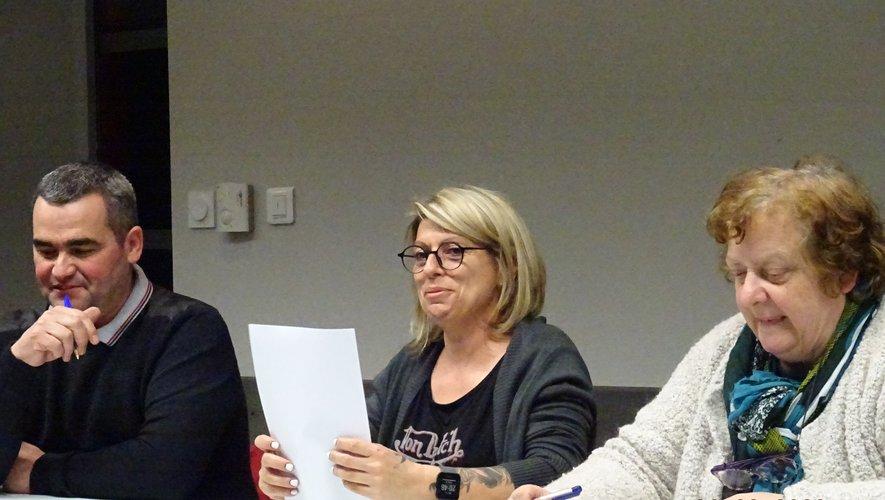François Maurel, Coralie tardieu, Régine Sudres ont présenté un bilan plutôt positif.