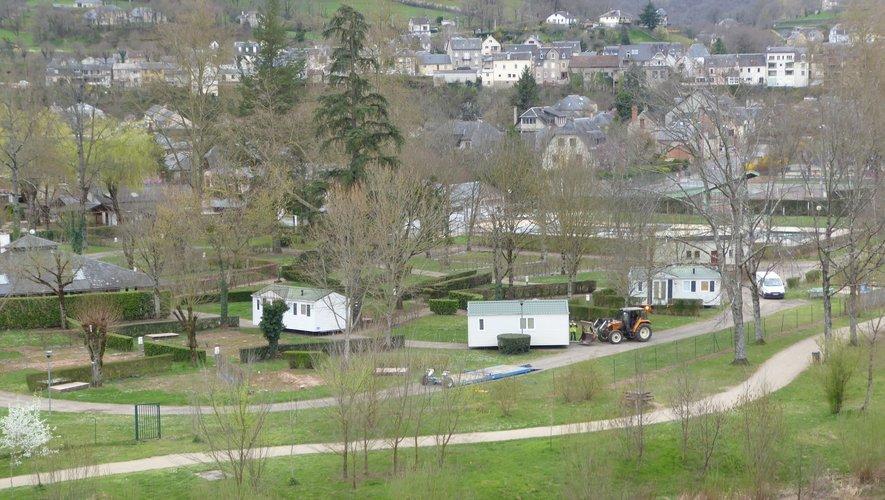 Le camping du Roc de l'Arche ne dispose plus de ses trois étoiles depuis… 2017.