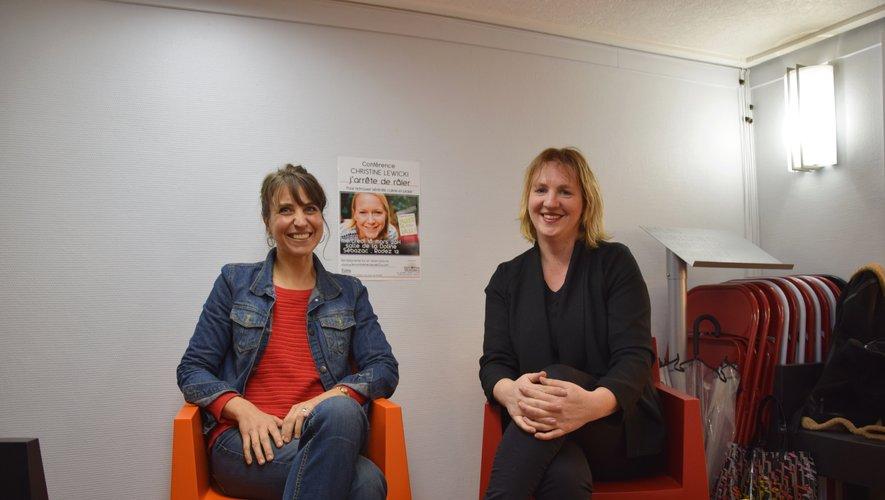 Christine Malgouyres et Alexia Lamazère, co-fondatrices des Rencontres Heureuses.
