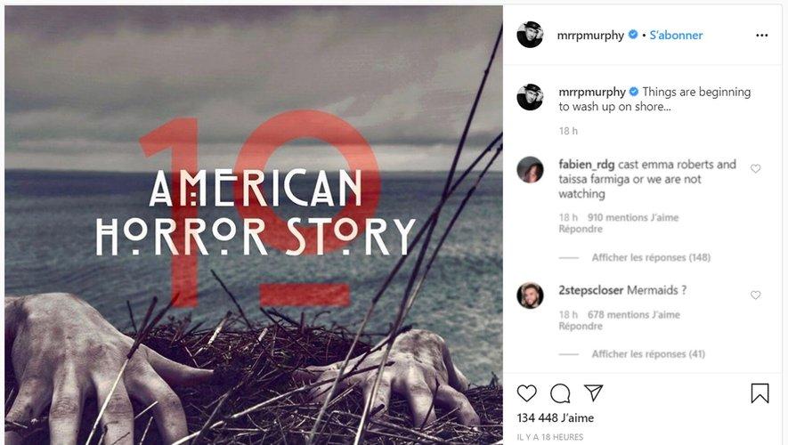 """La série """"American Horror Story"""" comprendra au moins treize saisons, a annoncé la chaîne de télévision FX en janvier dernier."""
