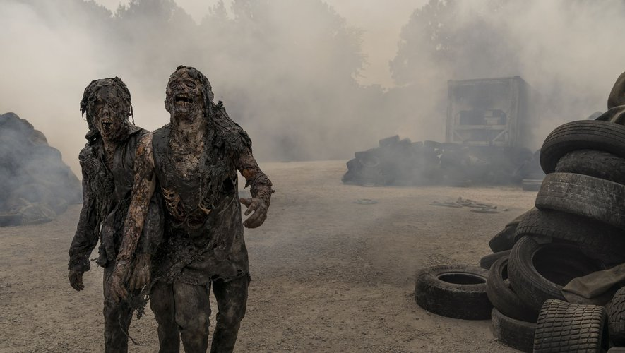 """The Walking Dead : World Beyond"" sera diffusée le 12 avril sur AMC aux Etats-Unis."