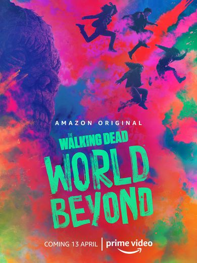 "Amazon Prime Video a dévoilé un premier poster de la série ""The Walking Dead : World Beyond""."