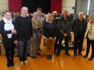 Les bénévoles du Clocher Saint-Martin.