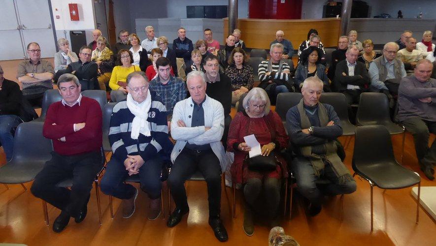 Les nombreux adhérents participant à cette assemblée générale.