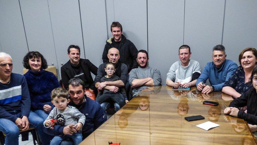 Les membres du comité d'animation.