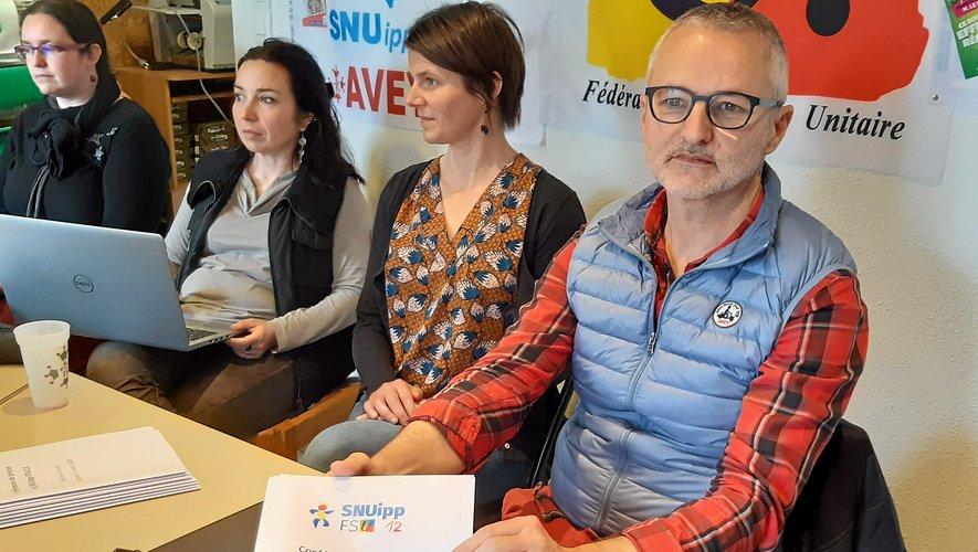 Les responsables du syndicat Snuipp FSU 12 ont invité les personnes concernées à témoigner.