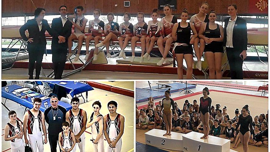 Trampoline, gymnastique artistique masculine et féminine, aérobic, le Gym'club ruthénois est sur tous les fronts.